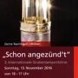 """Schon angezünd´t"" 13.11.2016 Grubenlampenbörse"