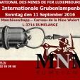 12. Intern. Grubenlampenbörse LUX 11.09.2016